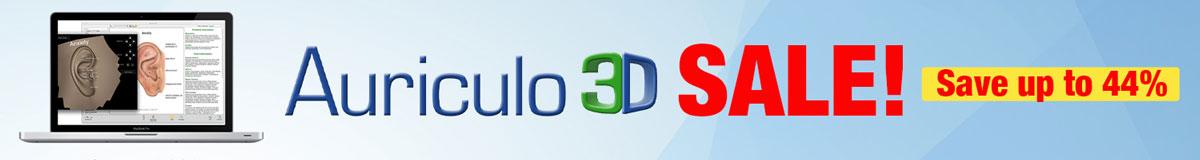 Auriculo 3D Sale Banner