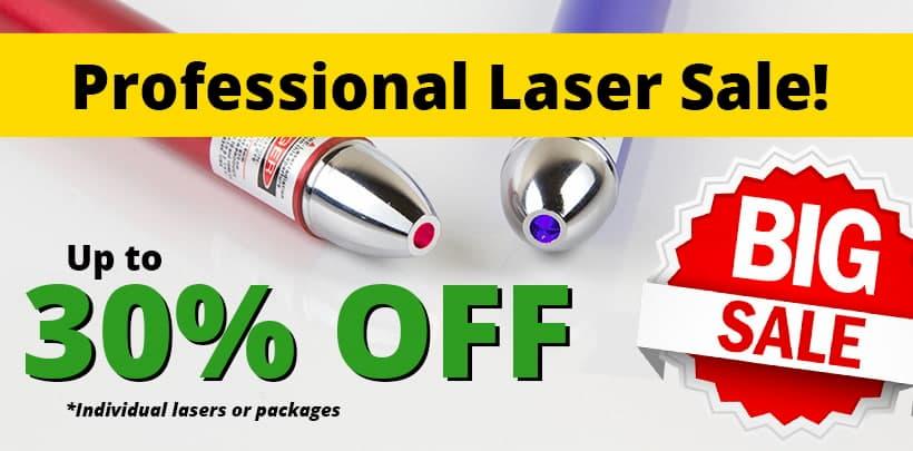 Laser Sale