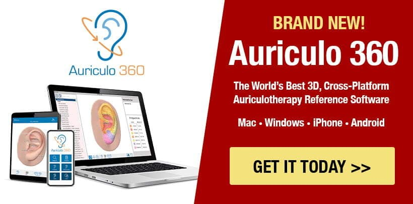 Auriculo 360 Auriculotherapy Reference Software