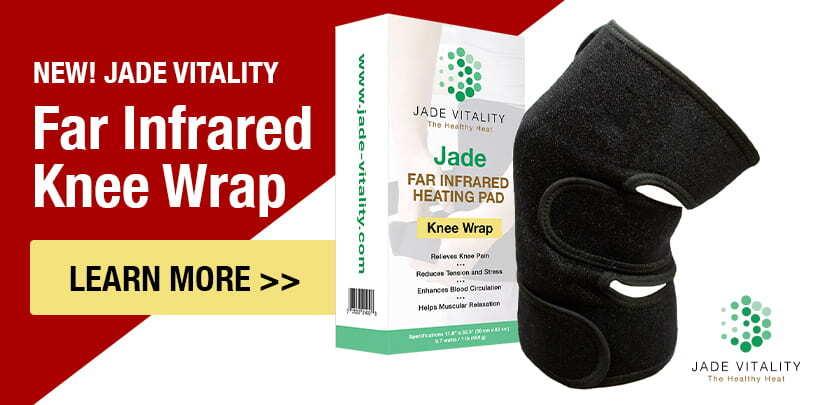 Jade Vitality Knee Wrap