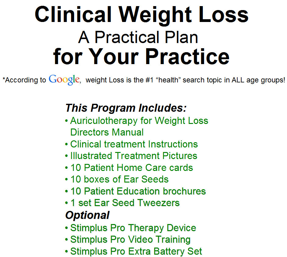 Weight loss programs acupuncture technology news nvjuhfo Gallery