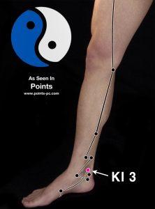 Acupuncture Point KI 3