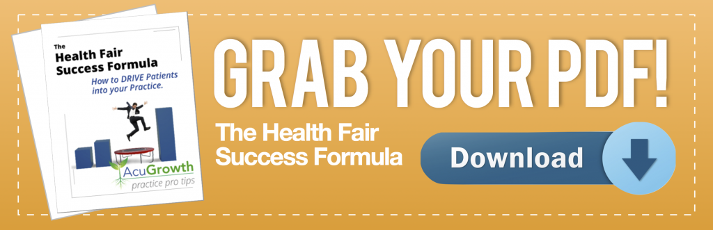 health fair success report download