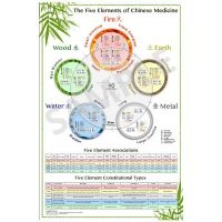 The World's Best Five Element Acupuncture Wall Chart