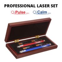 Professional Laser Set: QiCalm Blue 450 nM and QiPulse Red 635 nM