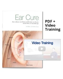 Auriculotherapy Training: The Ear Cure Online Video and PDF Book Set - Digital Delivery