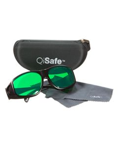 QiSafe Laser Safety Glasses: Red (635nM) and Blue (450nM) Protection